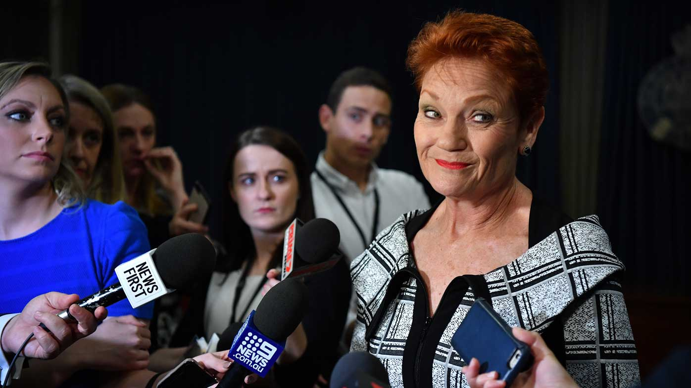 Pauline Hanson tears into Clive Palmer on Today