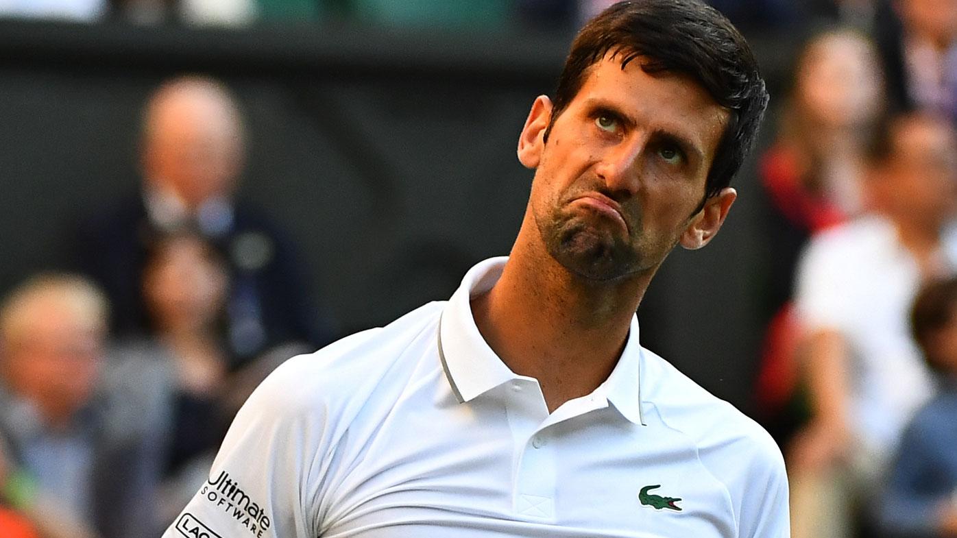 Tallest man in tennis makes huge statement