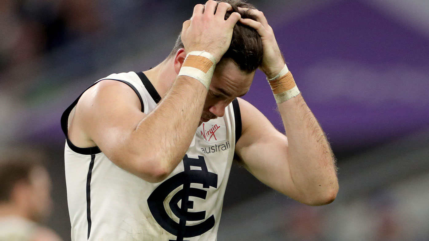Carlton's Mitch McGovern