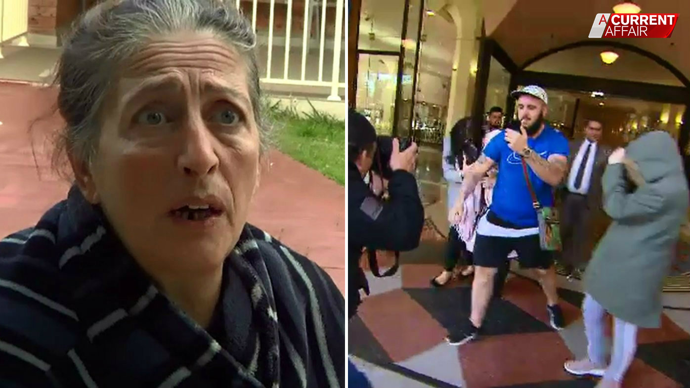 'F--- off': Heated clash as fraudster grandma who faked blindness leaves court