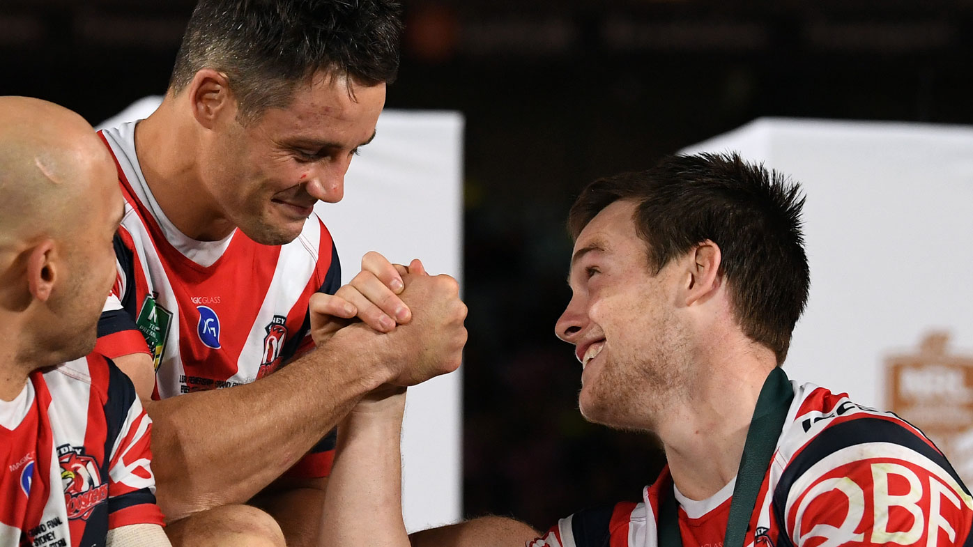 Cooper Cronk and Luke Keary