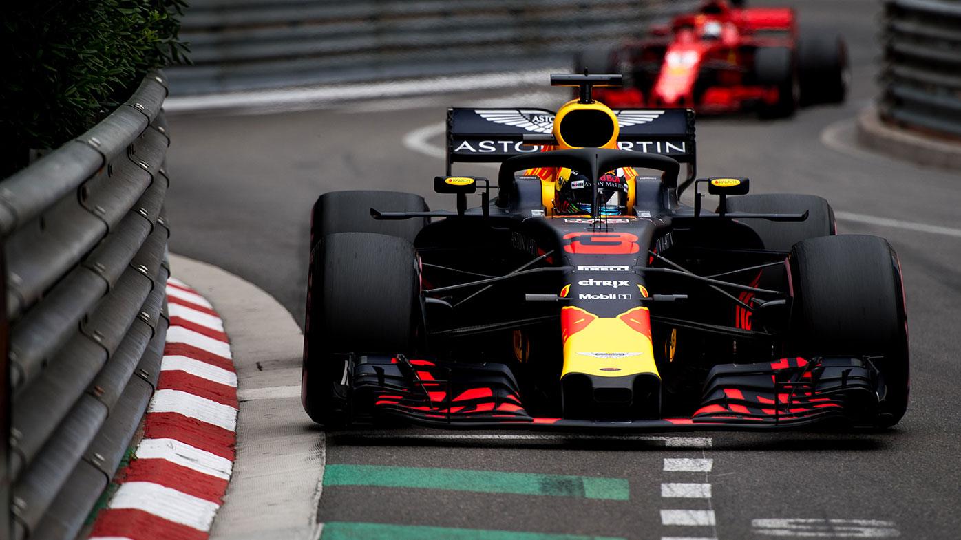 Daniel Ricciardo 2018 Monaco Grand Prix.