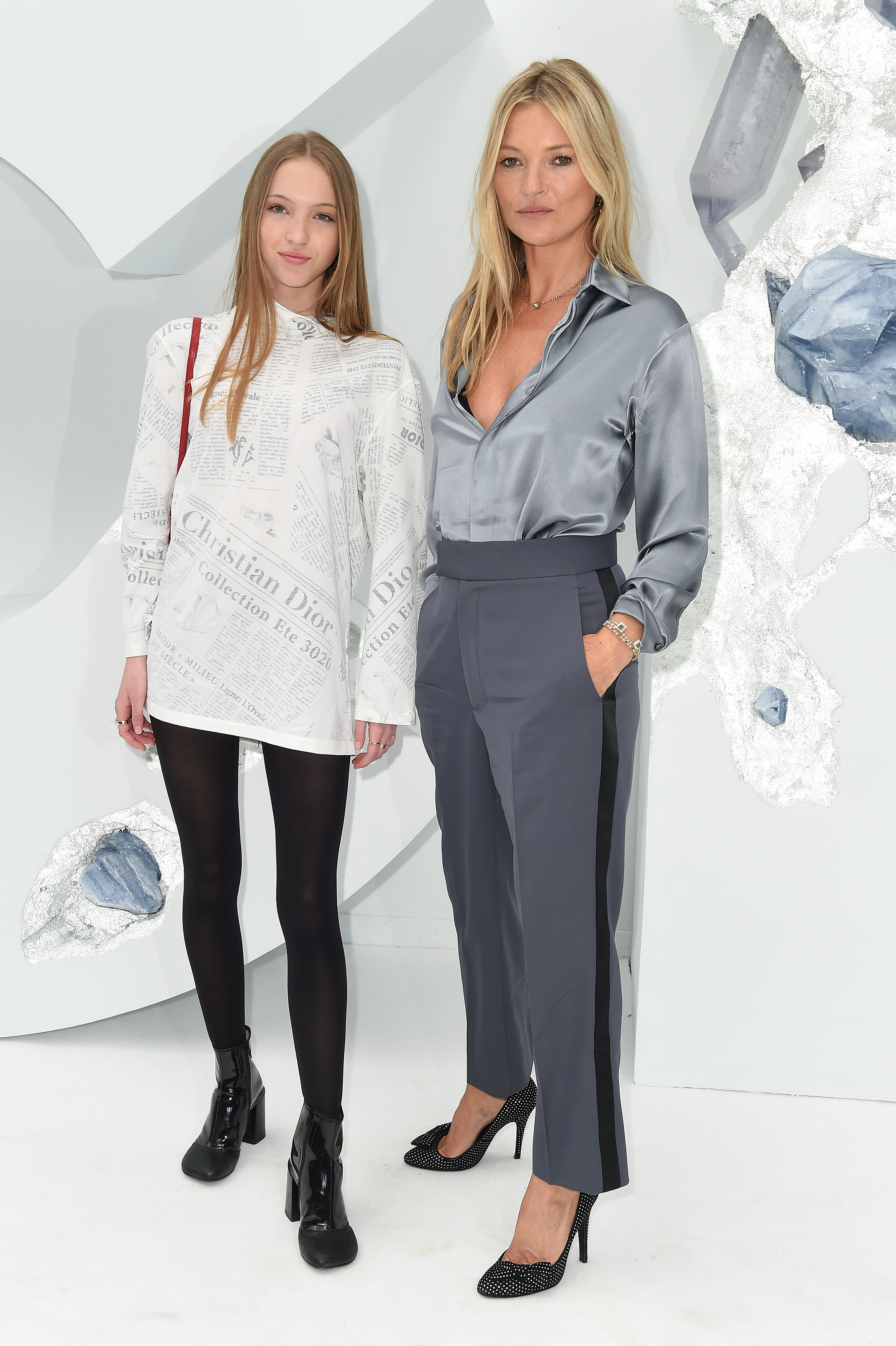 df3b7b77e Kate Moss and her daughter are the epitome of mother-daughter style ...
