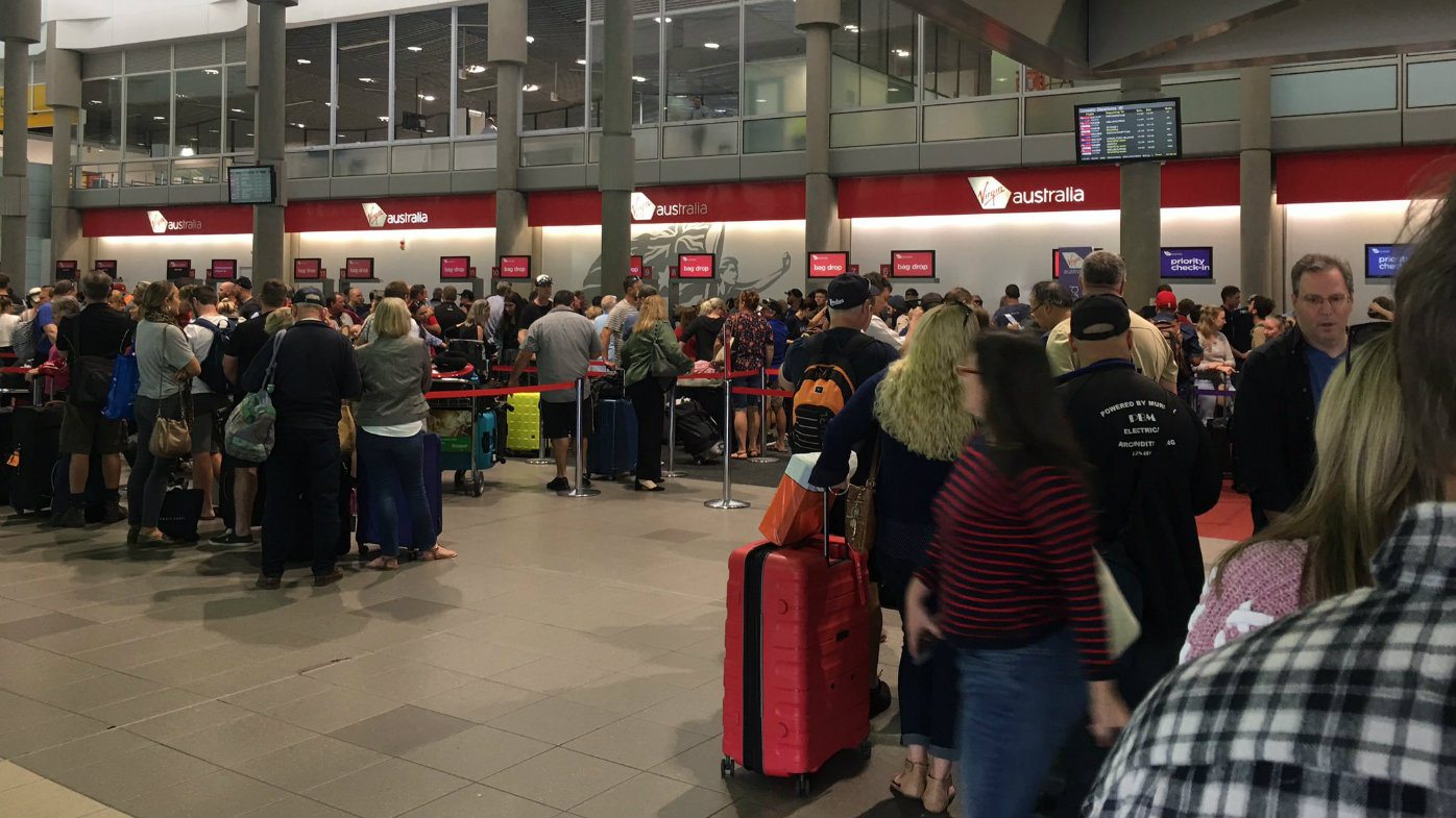 'Hours' of delay at airports as Virgin's check-in system glitches