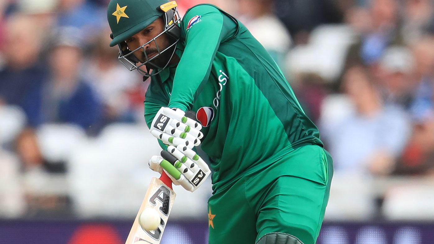 Pakistan batsman Asif Ali