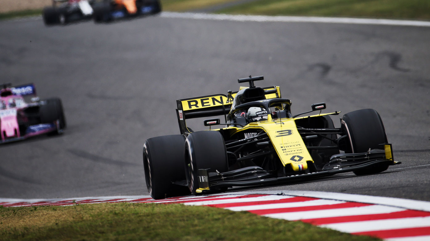 Ricciardo's season best performance