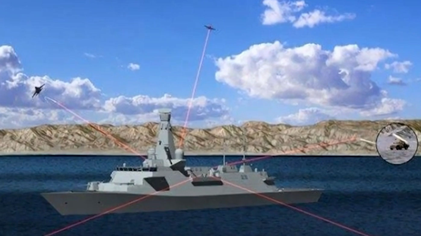 UK navy's laser weapon boosted by Formula 1 technology