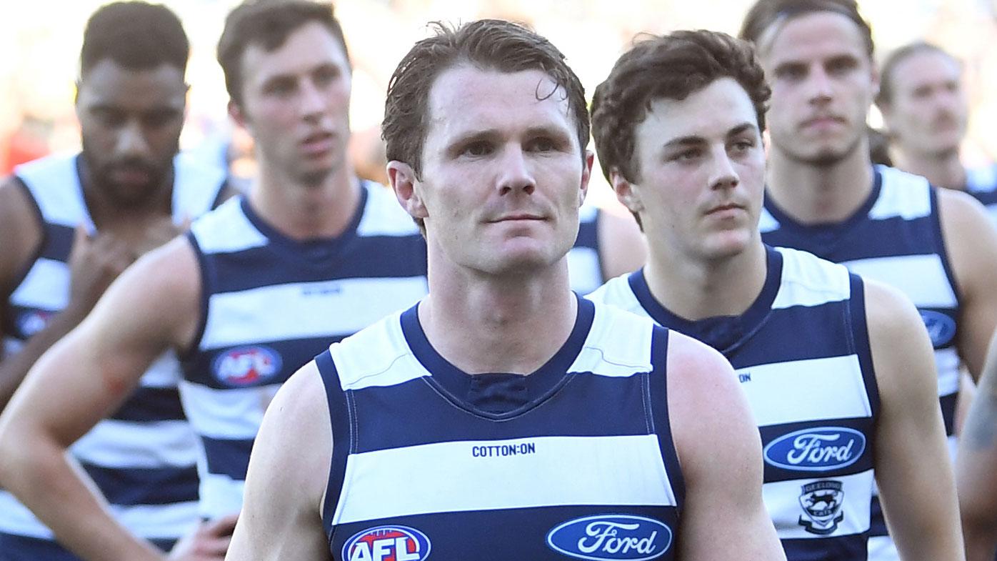 Patrick Dangerfield of Geelong