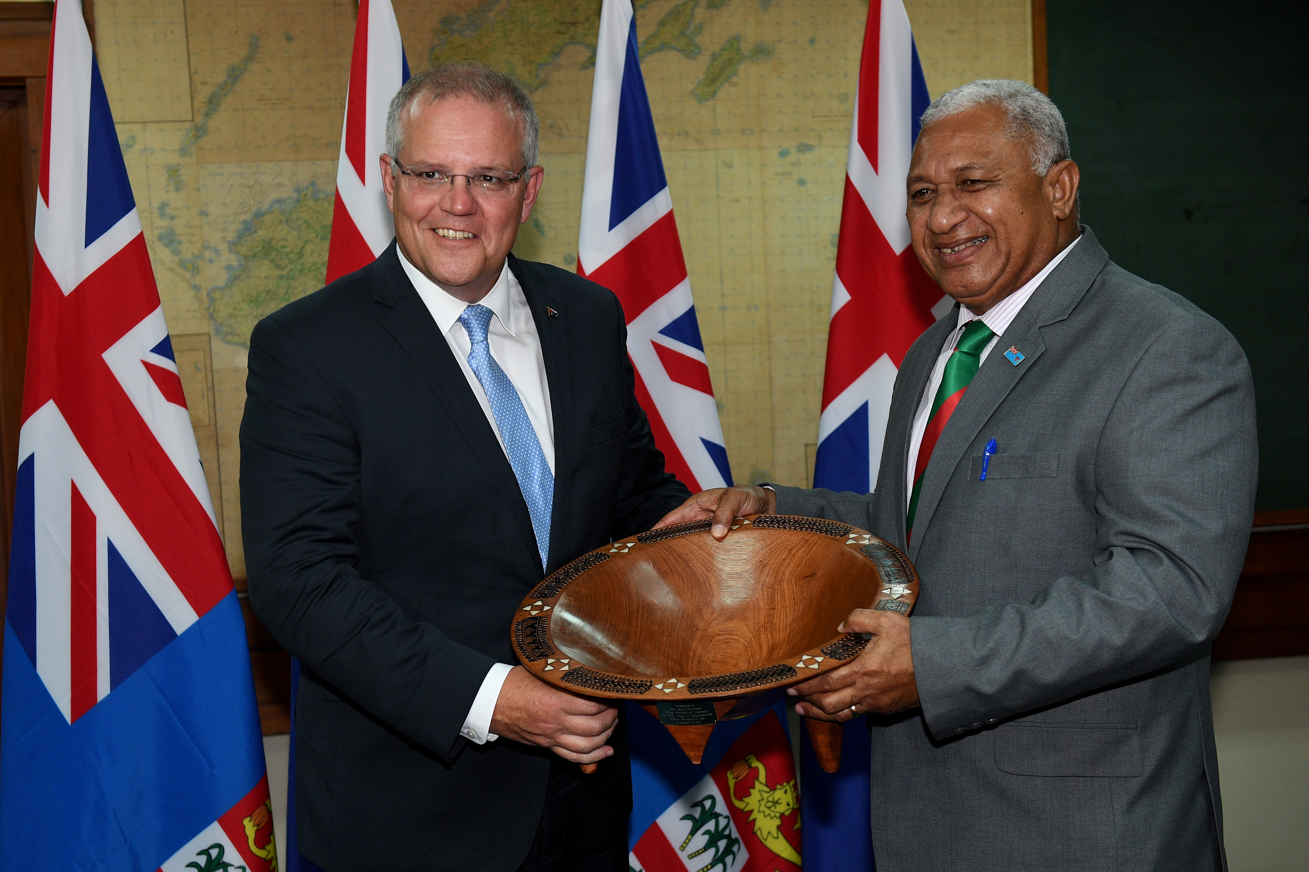 Federal Government's relations with Pacific Islands tested