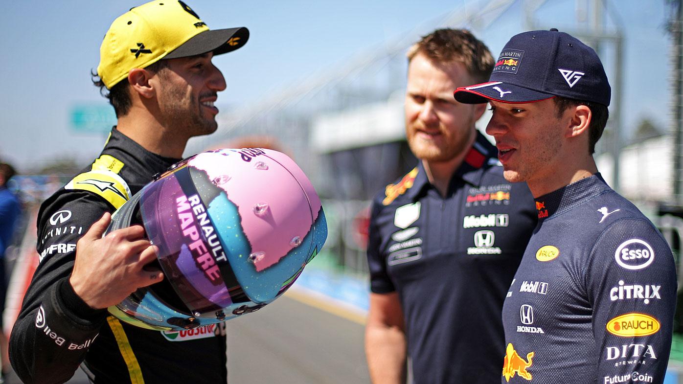 Ricciardo and Gasly