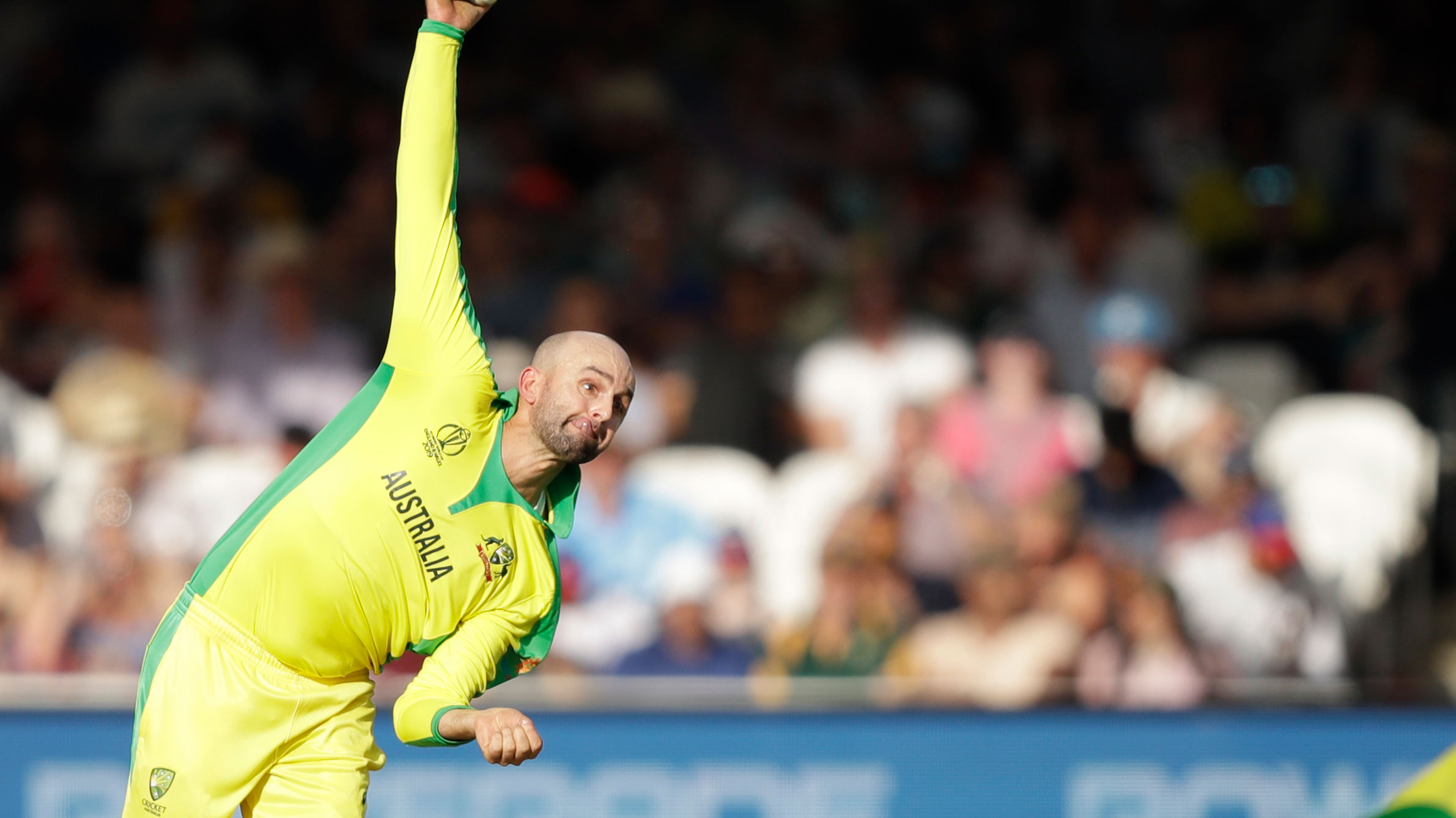 Nathan Lyon has impressed since coming into the Australian World Cup side.