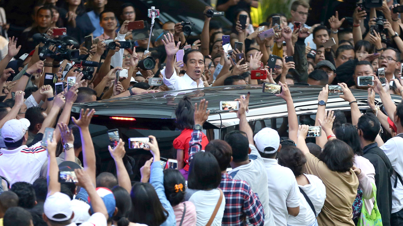 Widodo set for Indonesia election victory