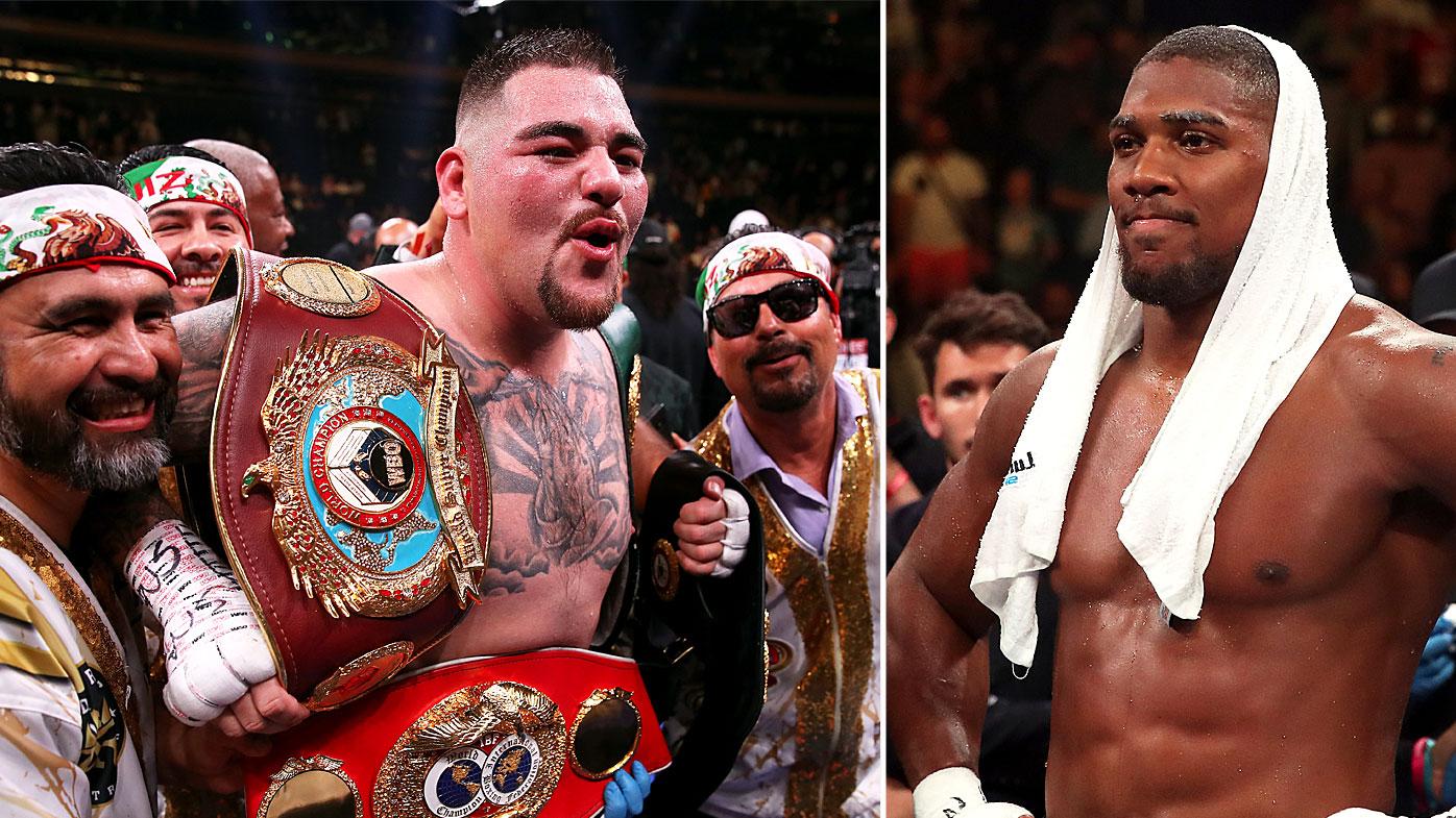 Ruiz stunned Joshua in the heavyweight title bout