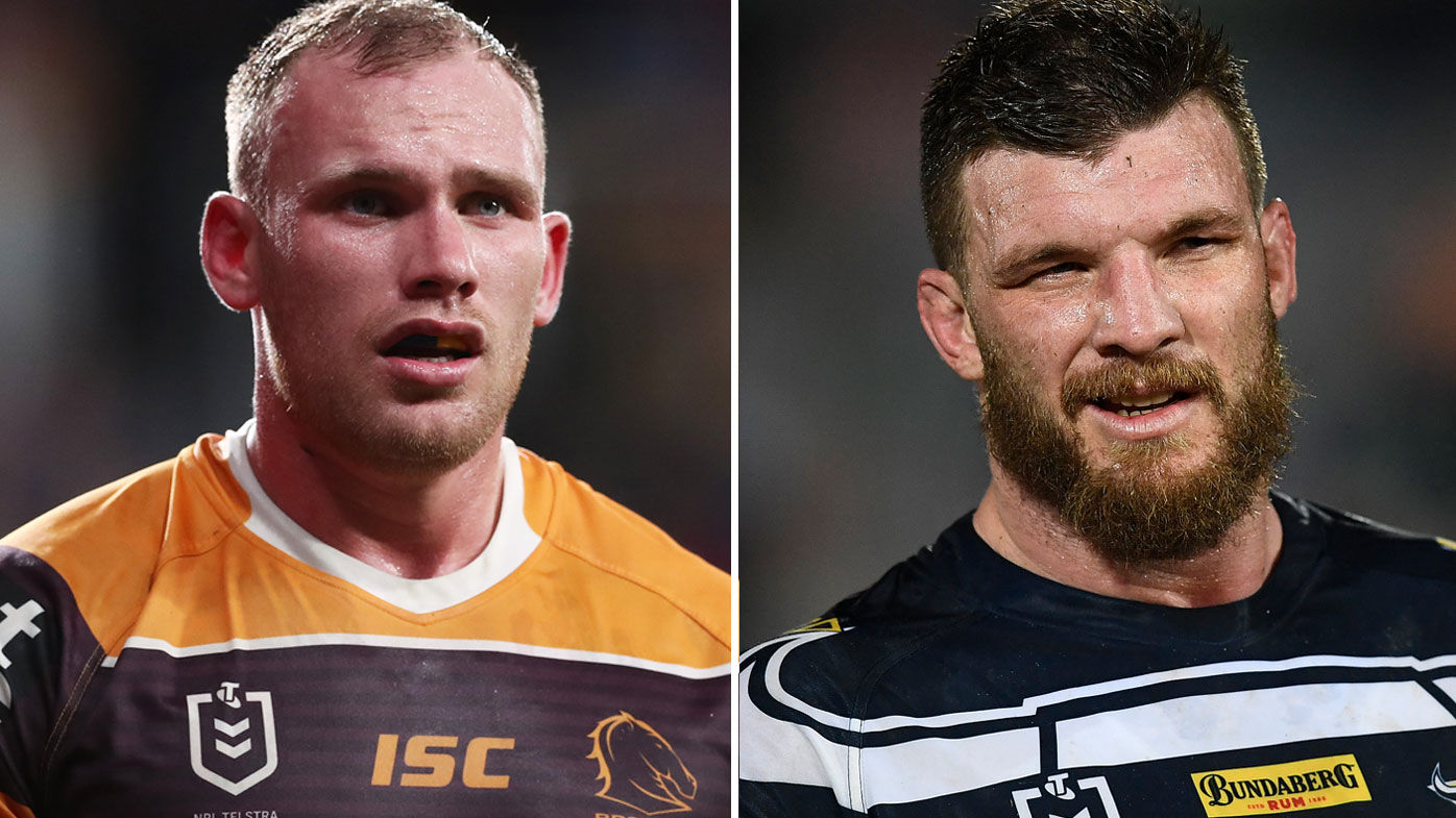 Gal slams niggling between Lodge and McGuire