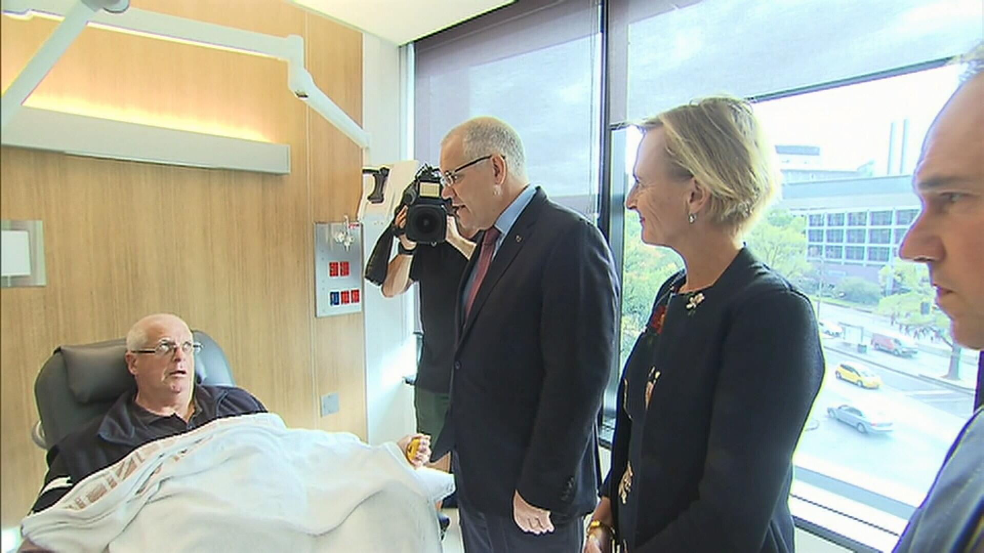 Scott Morrison unveils new 'life-changing' cancer treatment centre in Melbourne