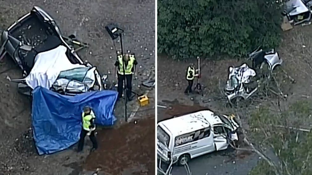 News Victoria: Man killed in horror three-car crash on Wilburton