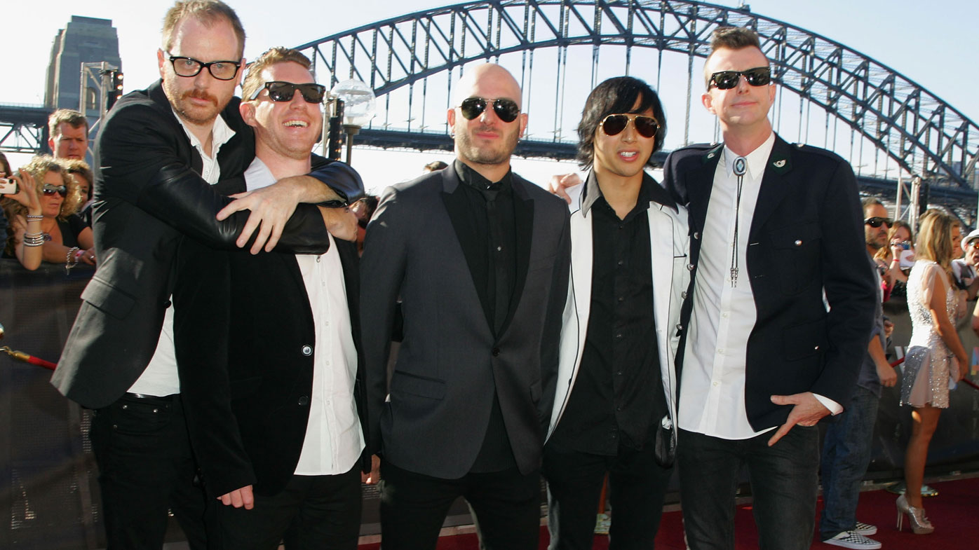 Birds of Tokyo at the ARIAS in 2010