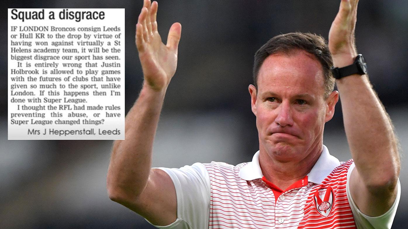 Titans target slammed for Super League 'disgrace'