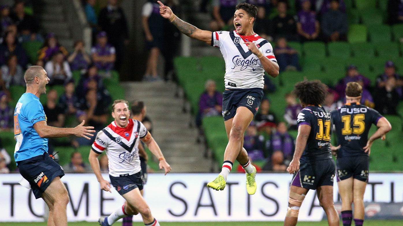 Latrell Mitchell wins it for Roosters