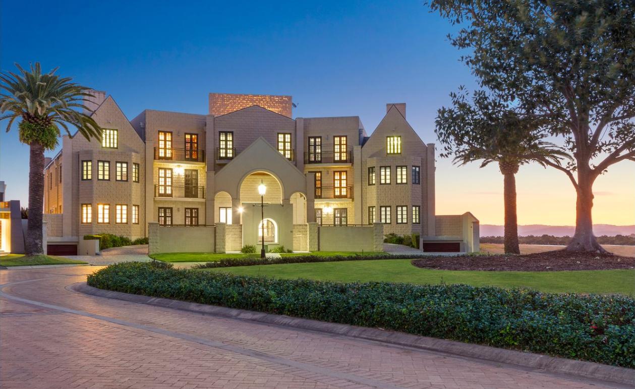 Luxury Gold Coast 'castle' on the market
