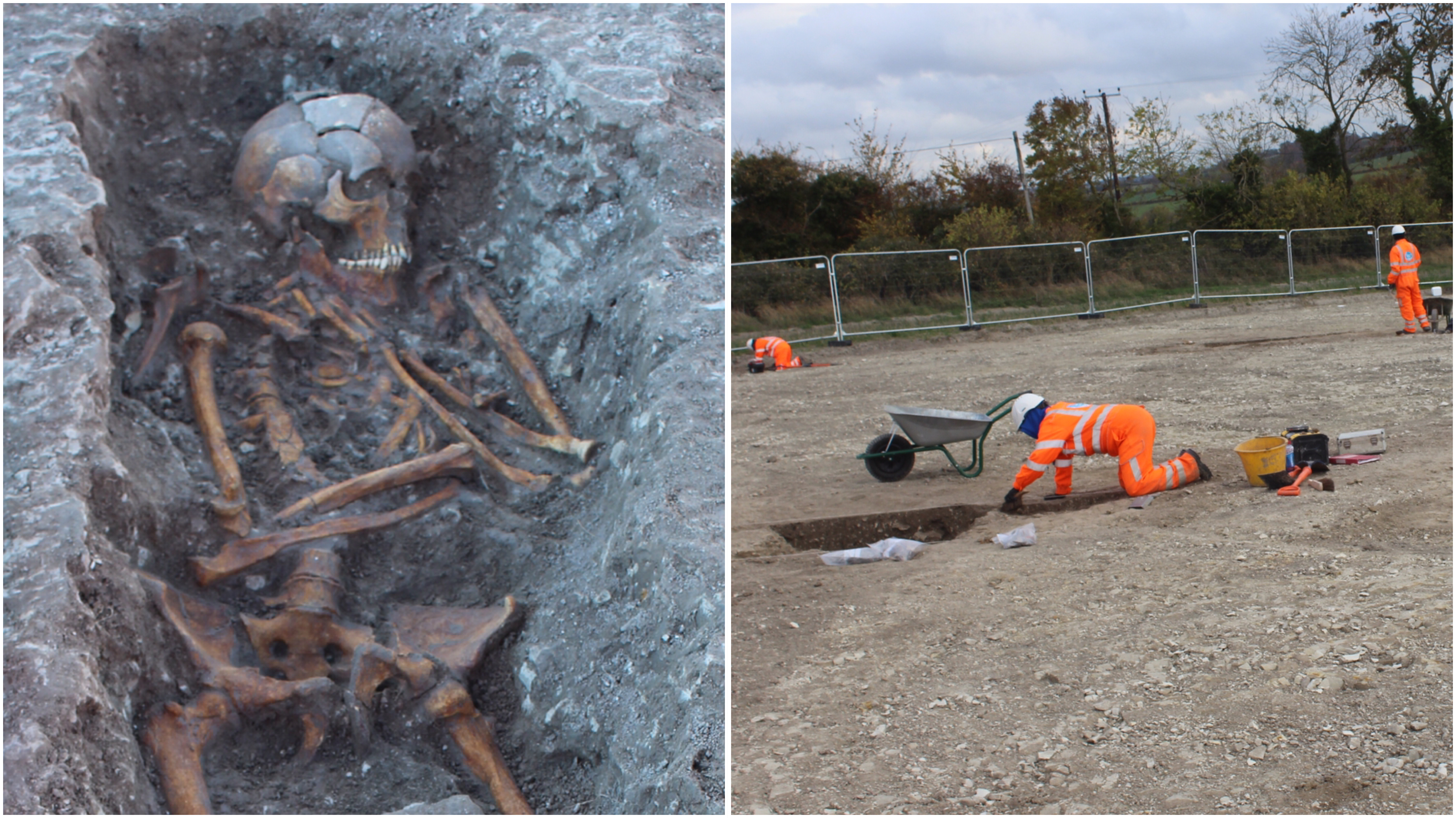 'Human sacrifice' grave found in England