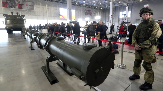Controversial Russian nuclear missile system in NATO sights