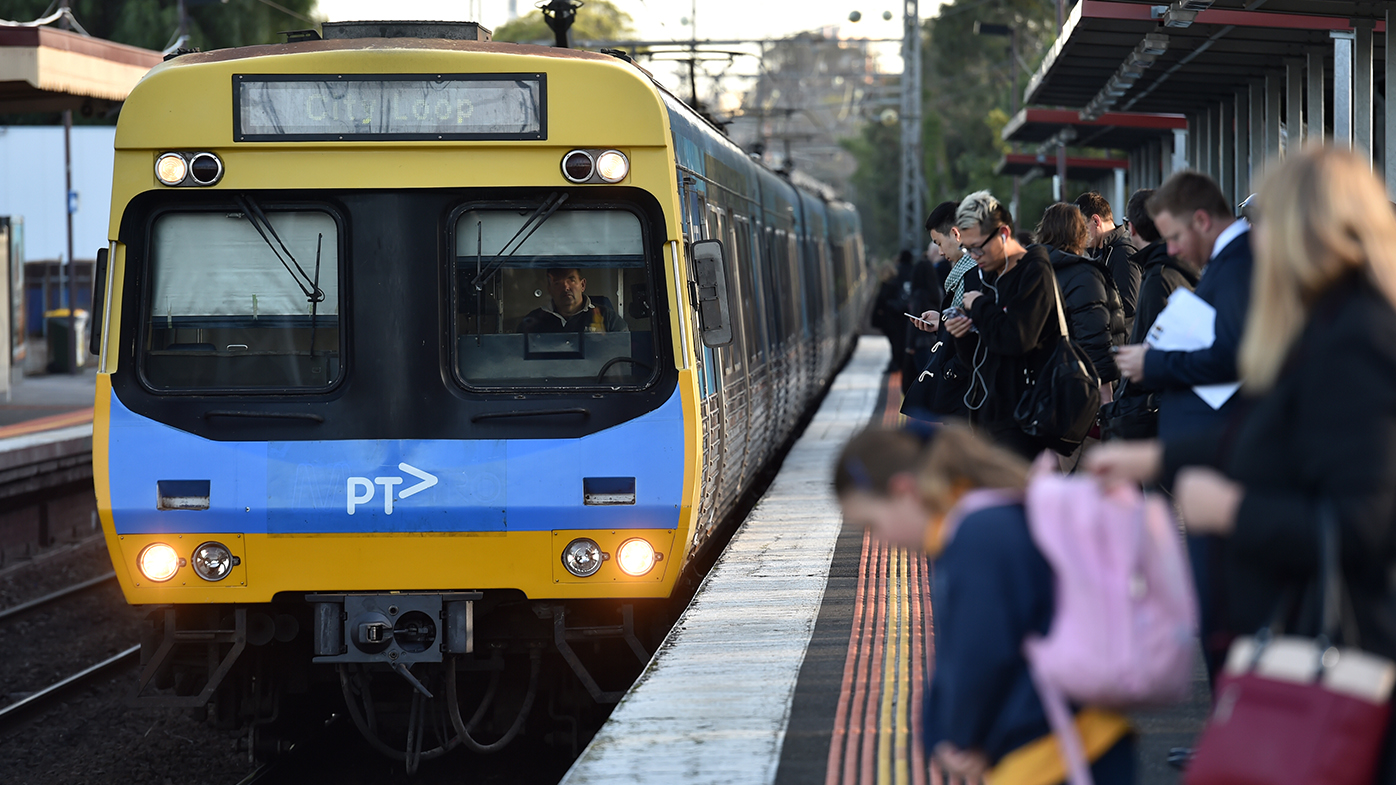 Mother separated from baby as train pulls out of Melbourne station