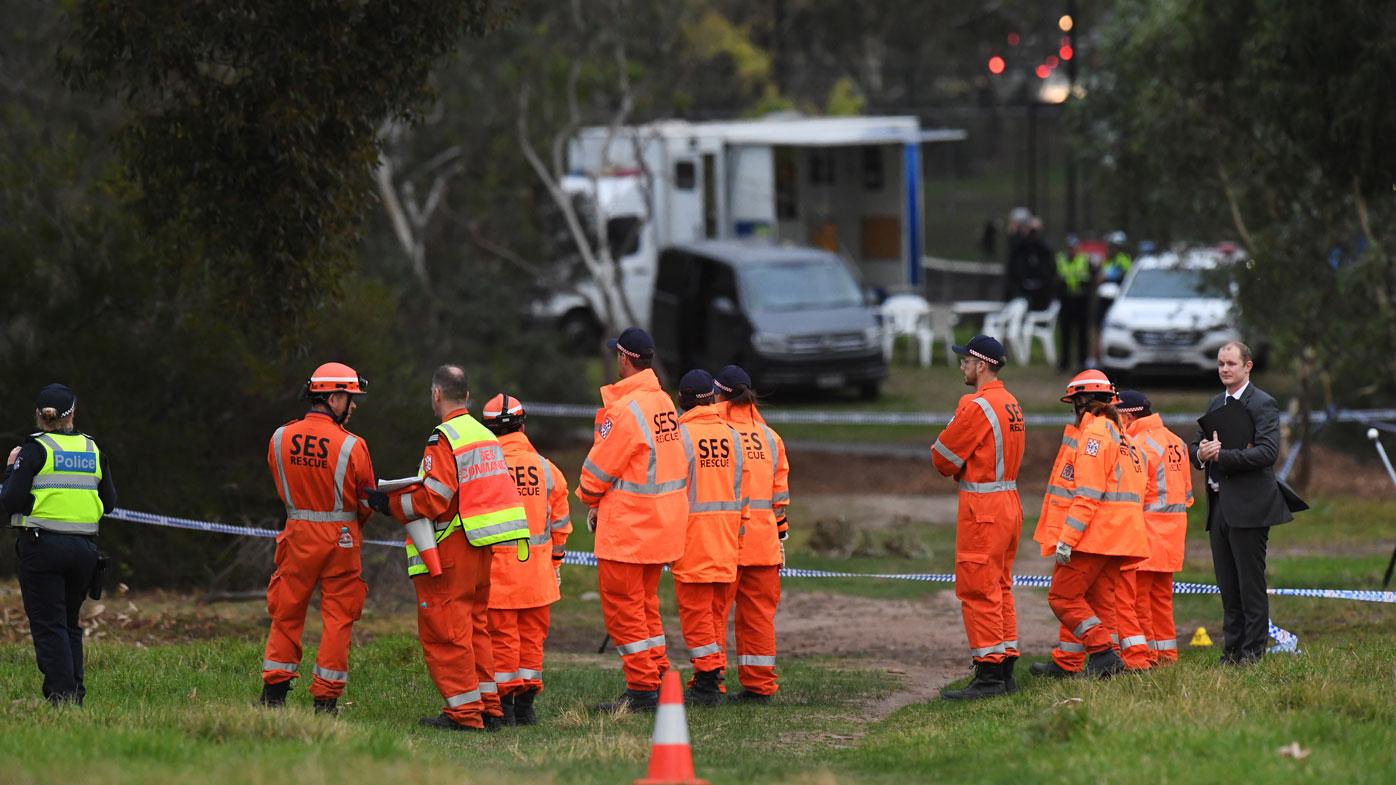 Woman's body sparks murder investigation in Melbourne park
