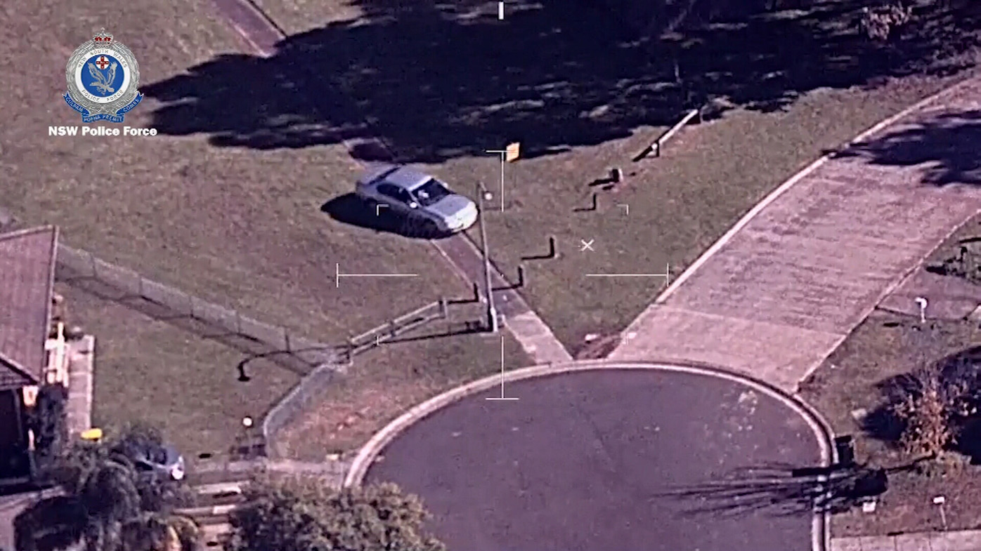 Unlicensed driver leads police on wild chase through parkland