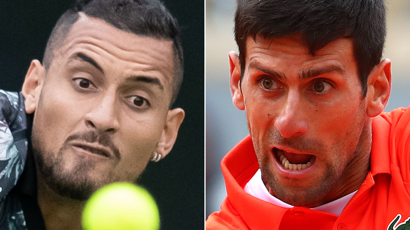 Kyrgios a good guy despite no respect for me: Djokovic
