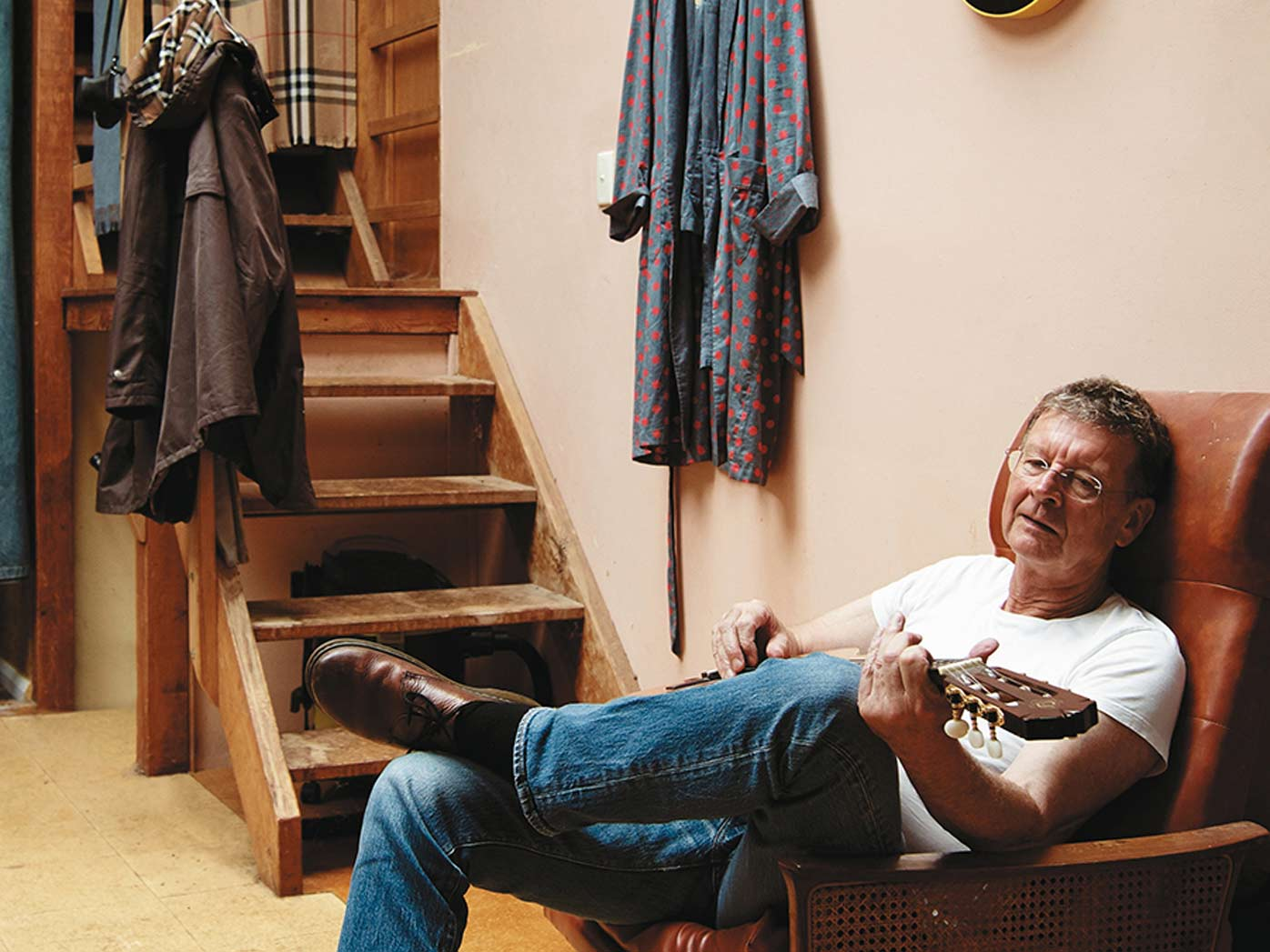 Red Symons on the loss of his marriage, son and job