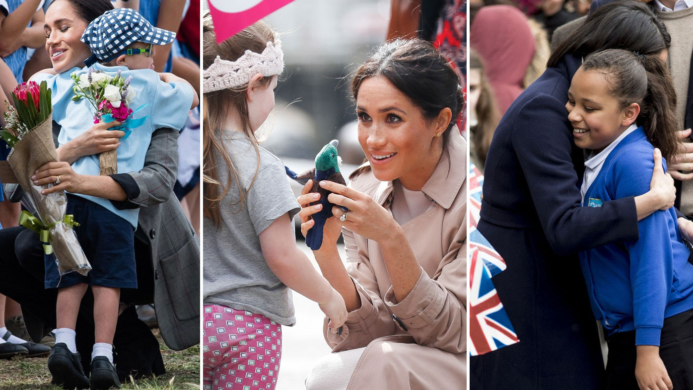 In photos: Meghan's cutest moments with kids