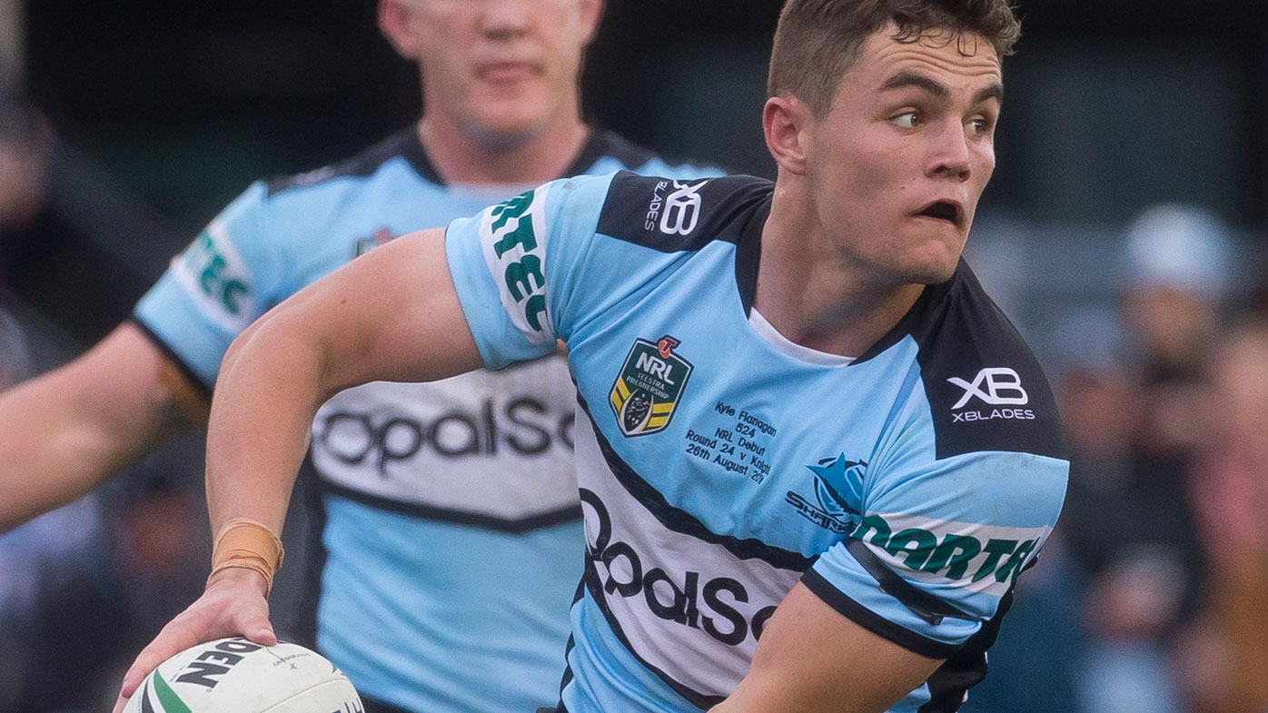 Kyle Flanagan stars for the Sharks