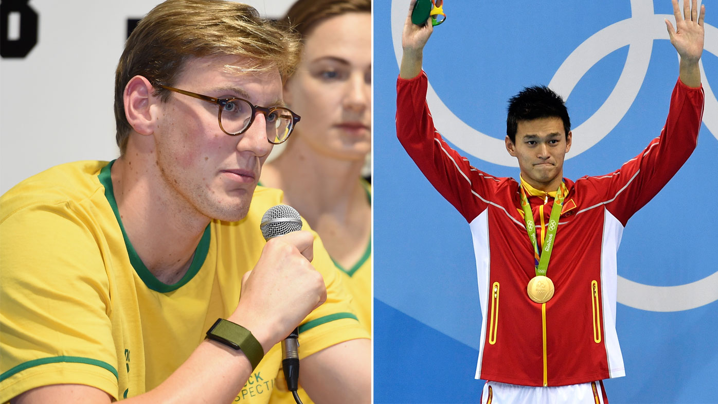 Mac Horton and Sun Yang