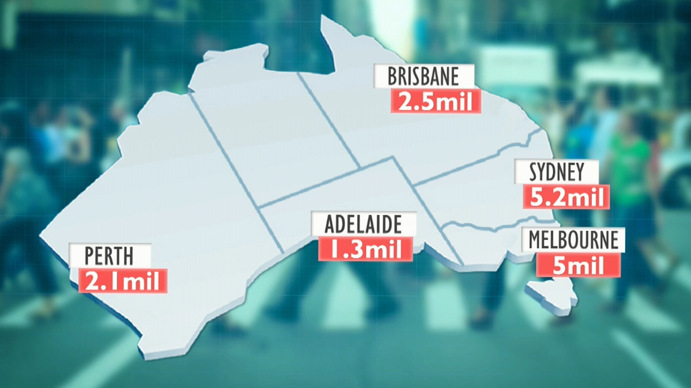 The only Aussie capital city with a declining population