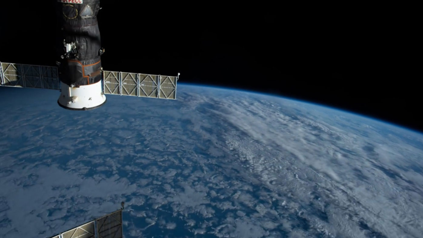 NASA astronaut's timelapse of the Earth from space