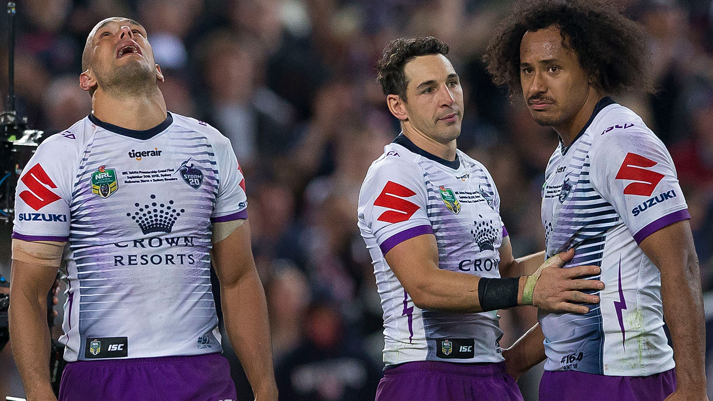 Melbourne Storm lose the 2019 NRL grand final