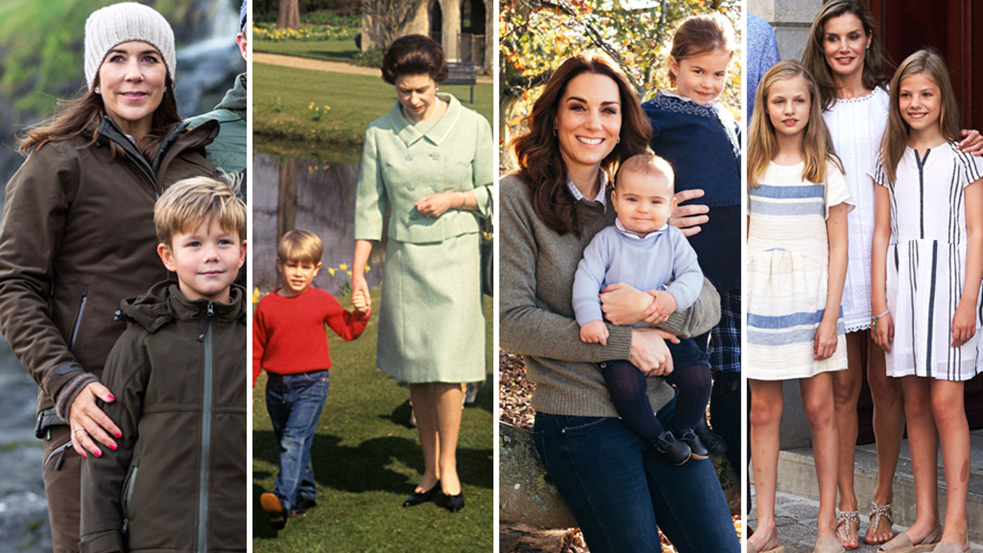 Royal mums around the world in pictures 9honey - Princesse sarah 40 ...