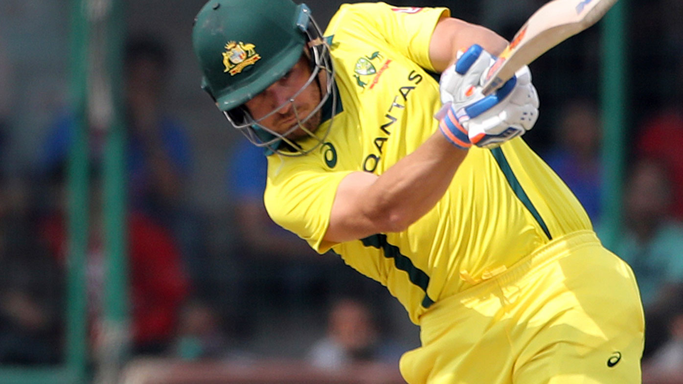 Aaron Finch has suggested either David Warner or Usman Khawaja could bat at number three.