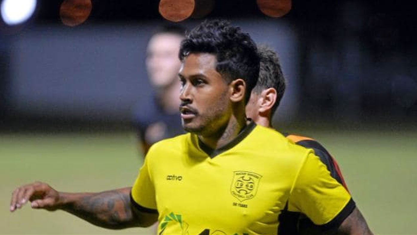 Ben Barba kits up for Mackay Rangers