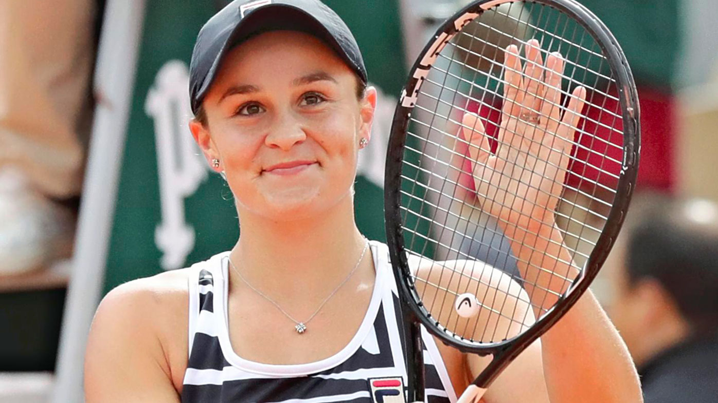 Barty claims Wimbledon top seed