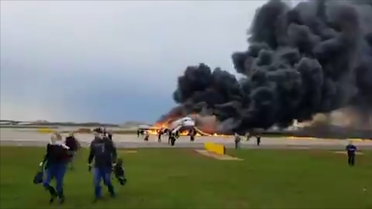 Did 'people jam' kill Aeroflot passengers?