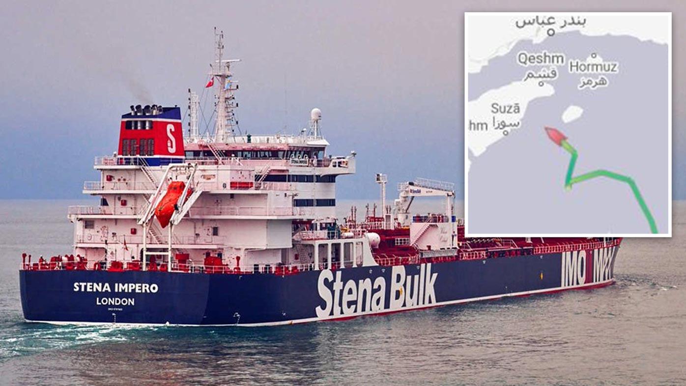Iran seizes British oil tanker amid escalating tensions