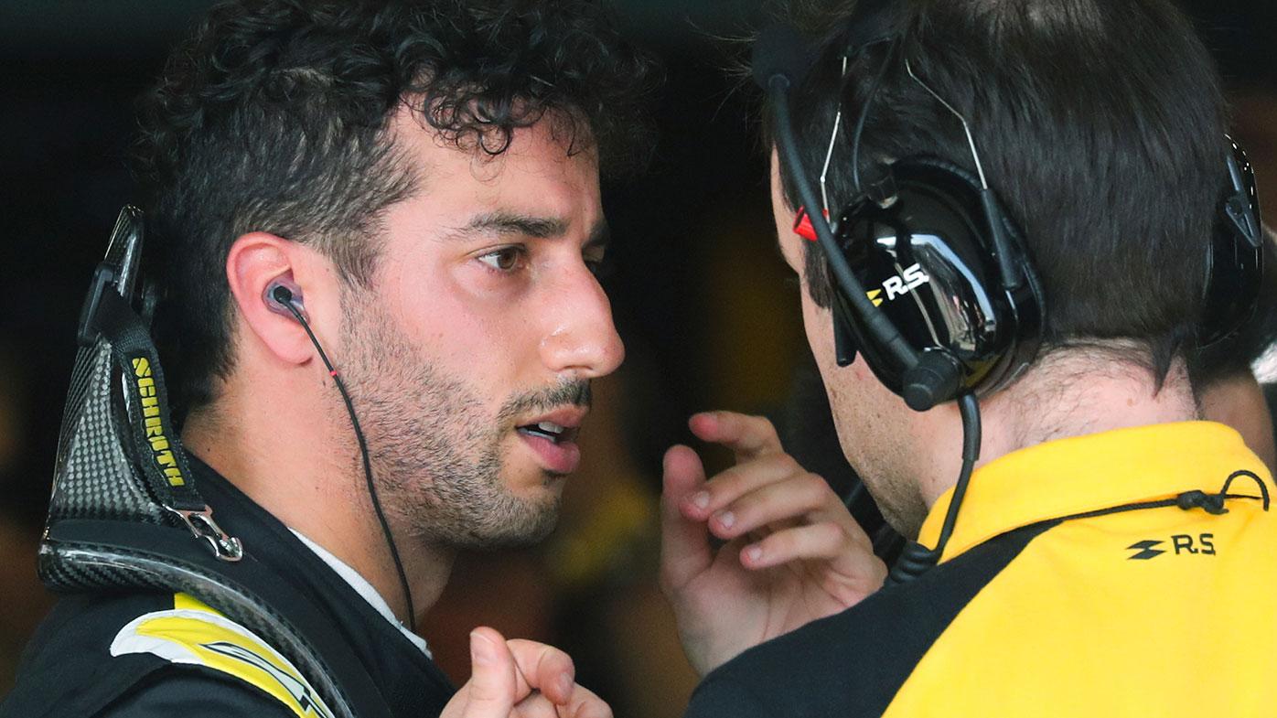 Daniel Ricciardo has had a mixed season at Renault.