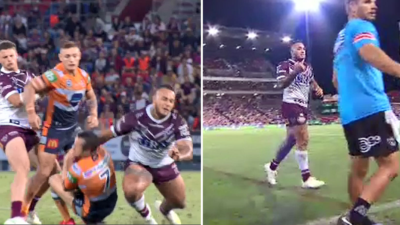 Manly hold on to beat Knights