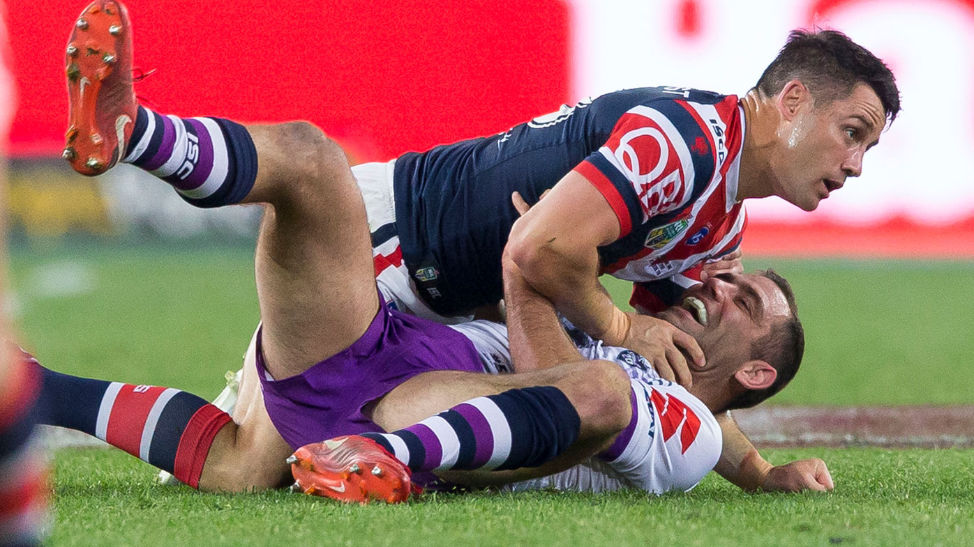 Cronk takes Smith to ground