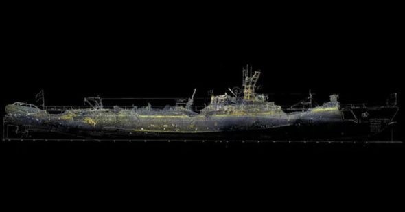 Lost submarine wreckage found in underwater volcano
