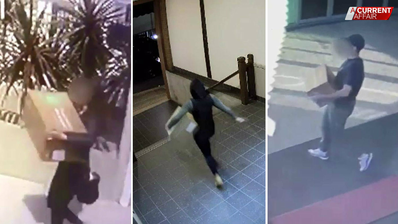 Thieves snatching up grocery deliveries outside houses, units
