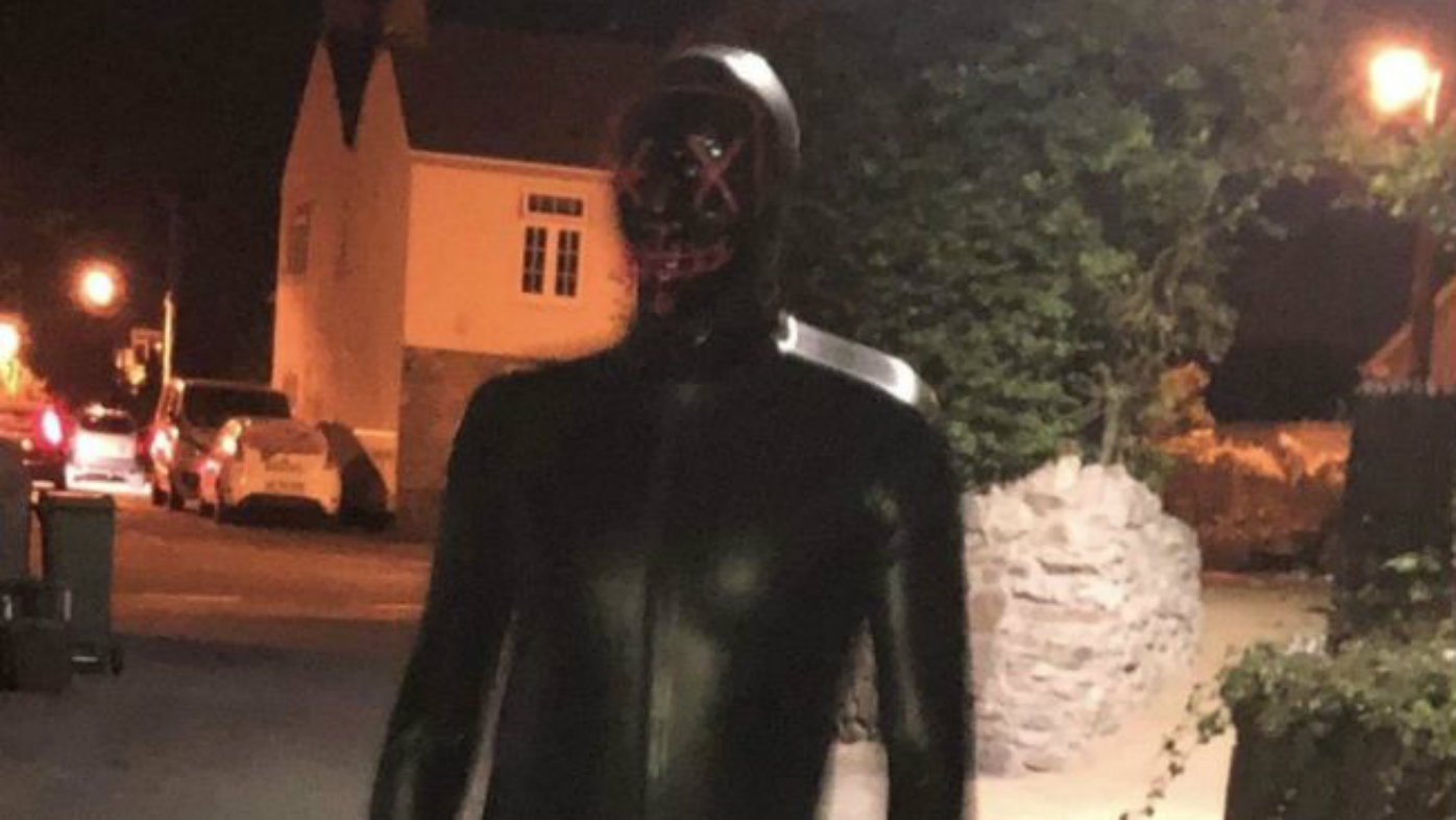 Woman's 'terrifying' ambush by man in fetish outfit