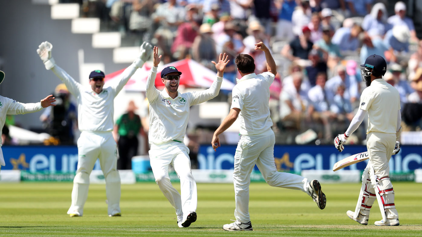 Ireland set 182 to win England Test at Lord's
